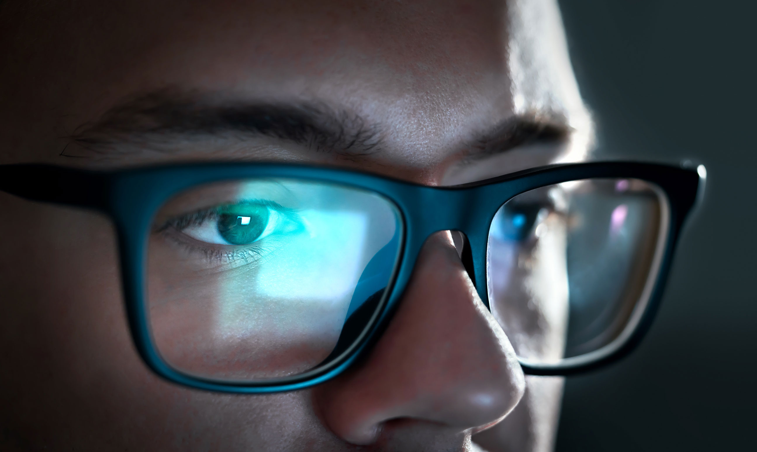 фото с отражением в очках с компа раскажем